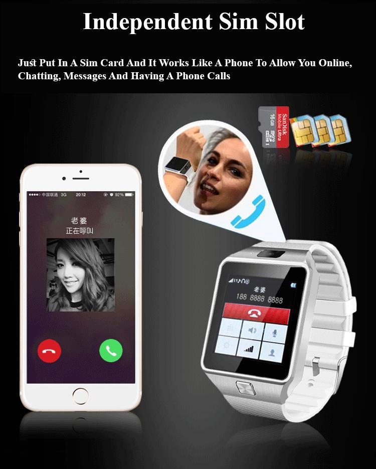 ZD09 Touch Screen Bluetooth Digital Smart Watch
