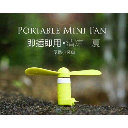 Portable Mini Fan For Smart Phone-Samsung