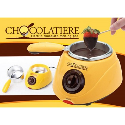 Electric Chocolate Fountain Fondue Chocolate Melt Pot Melter Machine