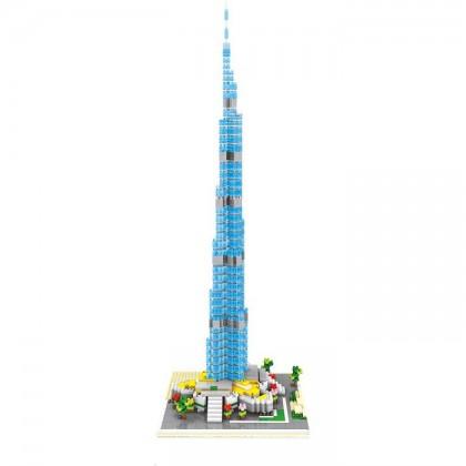 Wise Hawk 2458 Burj Khalifa Tower 3D Building Block DIY Toy Gift