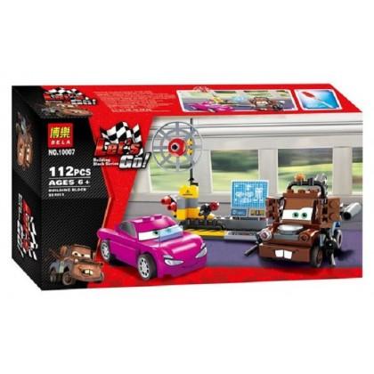 Bela Let's Go Cartoon Cars Building Block Series No.10007