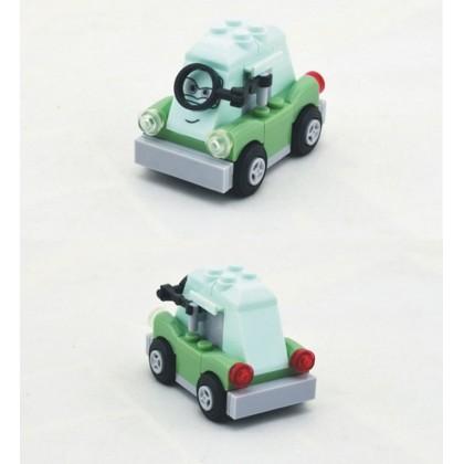 Bela Let's Go Cartoon Cars Building Block Series No.10011