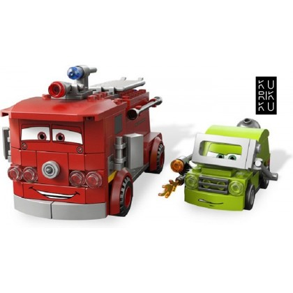 Bela Let's Go Cartoon Cars Building Block Series No.10013