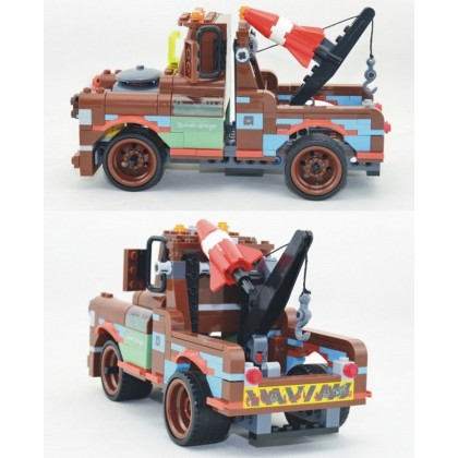 BELA LET'S GO CARTOON CARS BUILDING BLOCK SERIES NO.10015