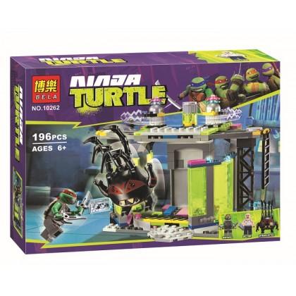 Bela Ninja Turtle No.10262 Building Block Toy