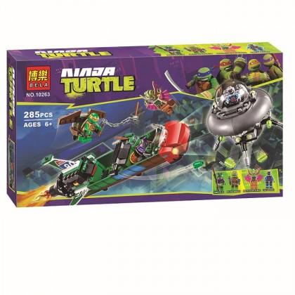 Bela Ninja Turtle No.10263 Building Block Toy