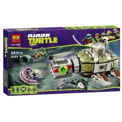 Bela Ninja Turtle No.10265 Building Block Toy