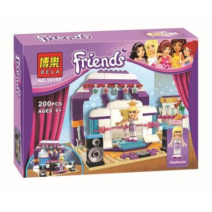 Bela Concert Friends Stephanie Girls Building Block Toy No.10155