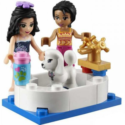 Bela Shop Friends Emma & Joanna Girls Building Block Toy No.10171