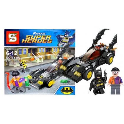S Heroes Assemble Batman Cartoon Building Blocks No.SY302