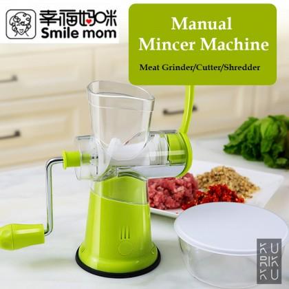 Smile Mom Manual Mincer Machine Meat Grinder Cutter Shredder