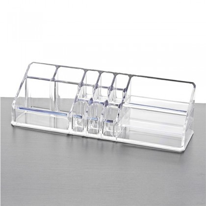 Acrylic Cosmetic Lipstick Makeup Jewelry Holder Case Organizer Code 8812