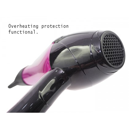 Sonar SN-45 Professional Fashion Heavy Duty SPA Shine Hair Dryer 3000 Watts + Free Gift