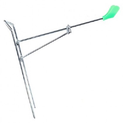 Steel Double Stand Adjustable Fishing Rod Stand