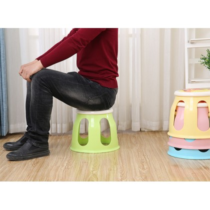 Plastic Cartoon Children Kid Sound Stool Chair