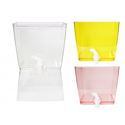 3 Compartment Colourful Juice Drink Dispenser Drinking Water Camping Party BBQ
