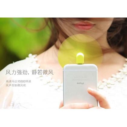 Portable Mini Fan For Smart Phone-Apple