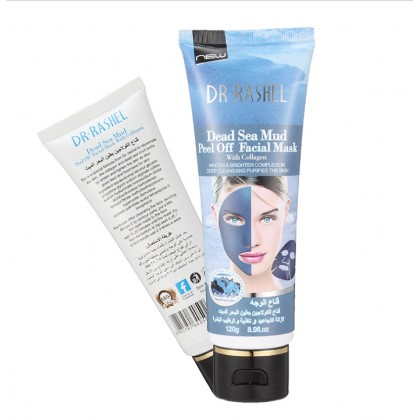 Dr-Rashel Dead Sea Mud Peel Off Facial Mask with Collagen 120ml