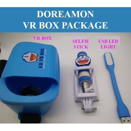 KIDS 3D VR BOX WITH MONOPOD