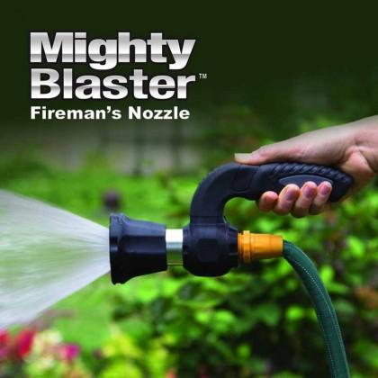 Mighty Blaster Fireman's Nozzle Spray Garden Hose Watering Plant Washing Tool Car Washing