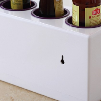 Multifunction Kitchen Seasoning Spice Condiment Storage Box Organizer Cutlery Shelf Rack