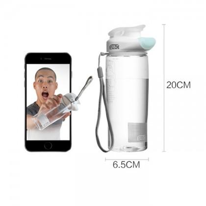 Esloe Hygiene Without Touching Lip Water Bottle 500ml