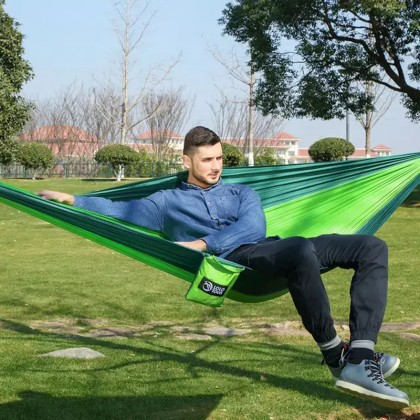 Durable Portable Hammock Easy Carry Foladable Outdoor Camping