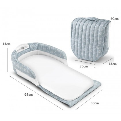 Separated Bed With Light Music Informative Portable Travel Bag Baby Cot