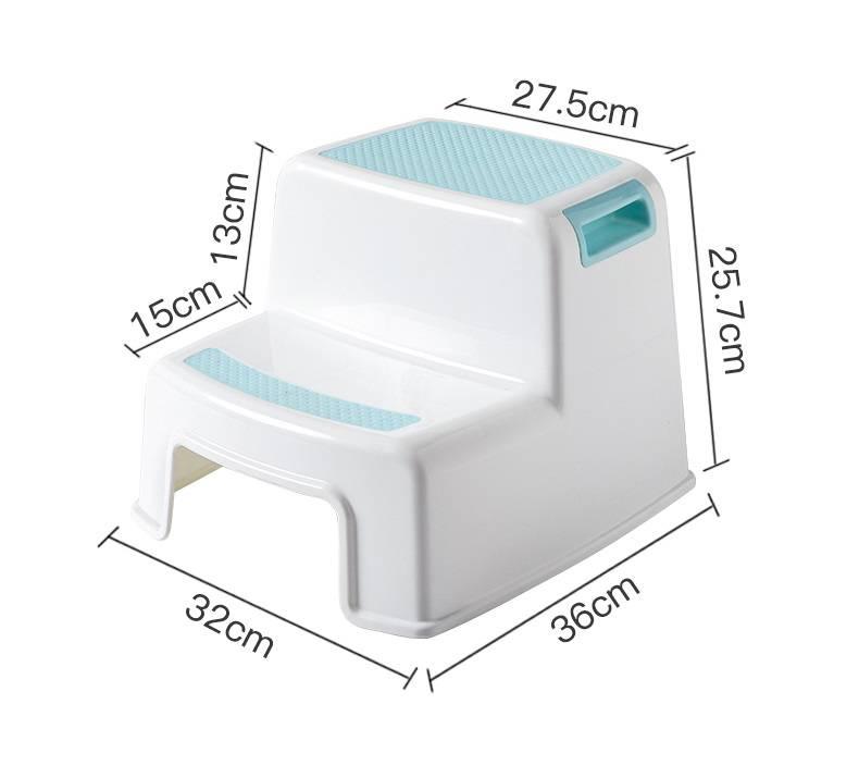 Fine Thick Plastic 2 Step Stool Kids Toddler Stool Toilet Potty Dailytribune Chair Design For Home Dailytribuneorg