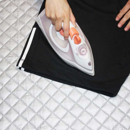 Magnetic Ironing Iron Mat Laundry Pad Washer Dryer Heat Resistant Blanket Cover Board