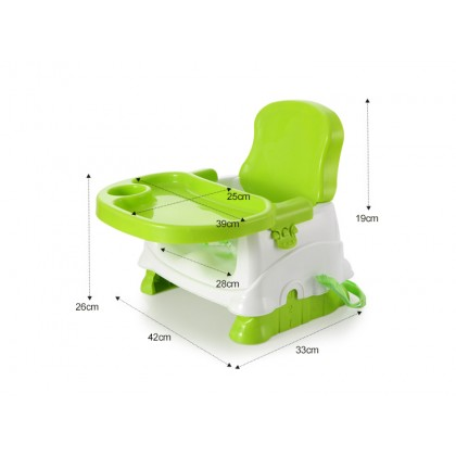 Baby Booster Seat Dining Chair Portable Infant Seat Kids Folding Feeding Table Adjustable Chairs