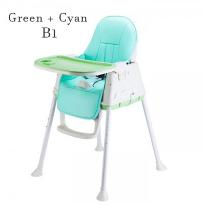 Multifunctional Adjustable Baby Kids Safety Dining High Chair Booster Cushion