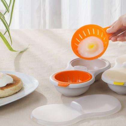 Egg Cooker Mini Creative Tableware Microwave Steamed Egg Steamed Egg Bowl