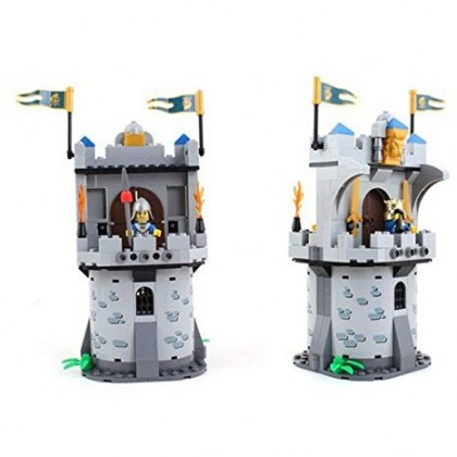 Enlighten 1020 Castle Series Medieval Castle Knight Pagoda Carriage Model Building Blocks Sets