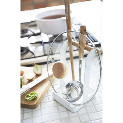 Iron Metal Pot Lid Rack Cutting Board Holder Kitchen Utensil Storage Kitchenware Organizer Nordic Style