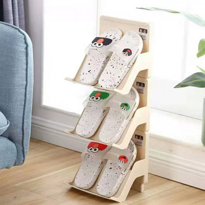 Nordic Style 1pcs Shoes Rack Multi-layer Assembly Storage Simple Fashion Home Office