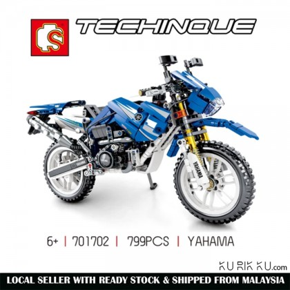 Sembo Technic Series 701702 799pcs Yamaha Toy Motorcycle Building Blocks Educational Toys Children Birthdays Gifts M Bricks
