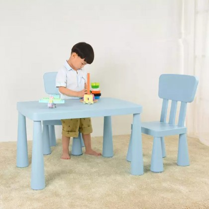 Plastic Table Kids Study Desk Multifunction Table and Chair Household Table with Heighten Parts