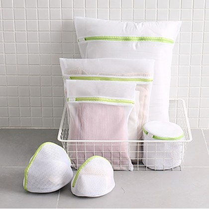 6-In-1 Washing Machine Laundry Bag Clothes Washing Mesh Net Wash Pouch