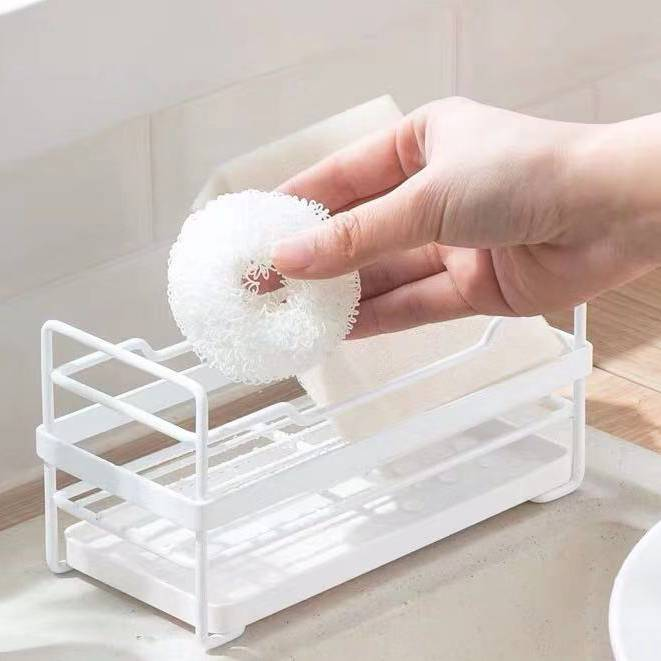 Kitchen Storage Shower Container Shelf Bath Sponge Deco Soap Dish Home Holder