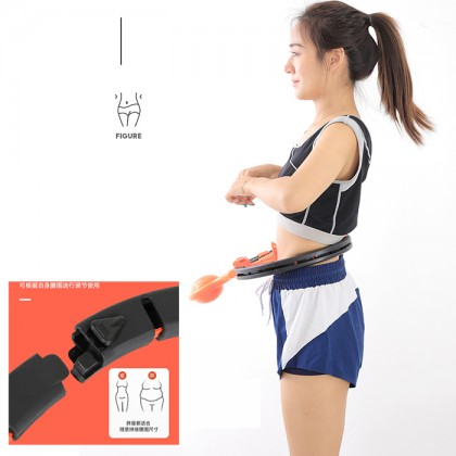 Digital Smart Hula Hoop Waist and Abdomen Weight Loss Gym Fitness