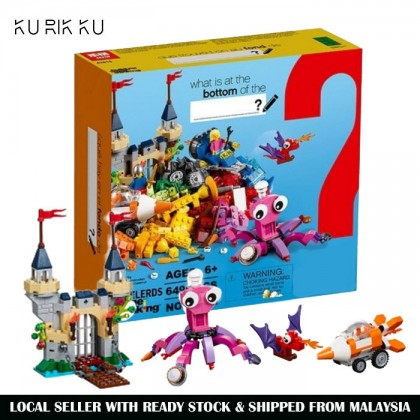 Lepin 42015 Builerds Building Block Toy 649pcs