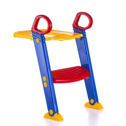 Foldable Children Kid Toilet Trainer Ladder Potty Seat