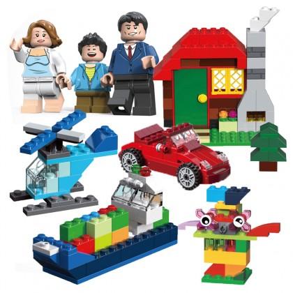 Decool 18100 Imagination Creation Box Building Block Set 592pcs Age 6+