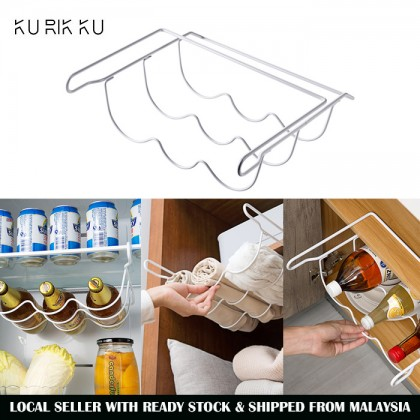 Multi Purpose Beer Wine Soda Bottle Scarf Shawl Home Kitchen Fridge Storage Space Saving Hanging Basket