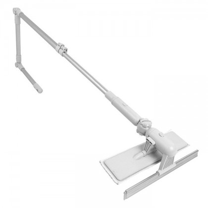 U Shape Extendable High-rise Window Squeegee and Scrubber Mirror Cleaning Glass Cleaner Adjustable Dust Brush