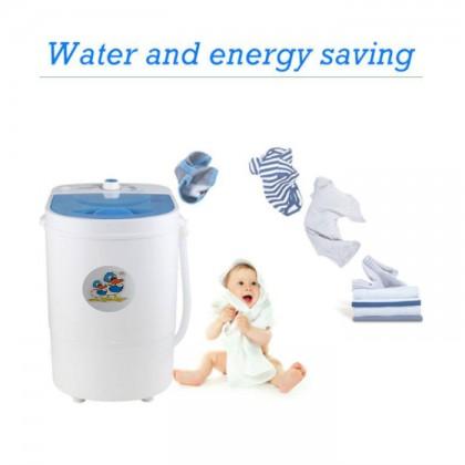 Semi-Automatic Portable 4.5kg Mini Dehydration Washing Machine Single Barrel