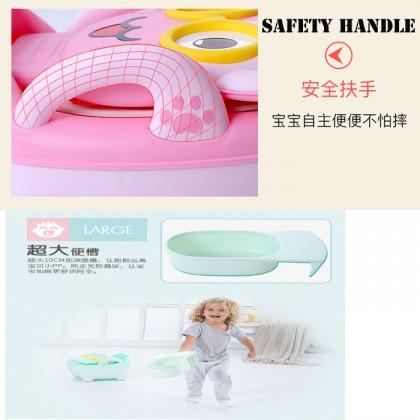 Children Toilet Seat With Soft Cushion Baby Potty Cartoon Children Baby Toilet Drawer Type