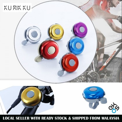 EKOS Multi Colour Alloy Aluminium Bicycle Bell Basikal Loceng Safety Horn