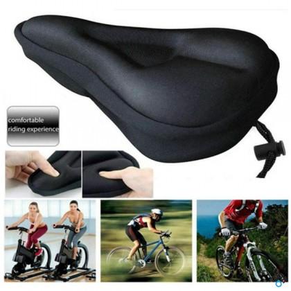 Bike Seat Cover Saddle Ultra Soft Comfortable Bicycle Seat Pad Cushion For Mountain Bike Road Bike or Sports Bike